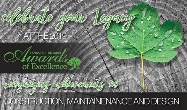 G&L Was Proud to be Back as the 2019 Presenting Sponsor at the Landscape Ontario Awards of Excellence.
